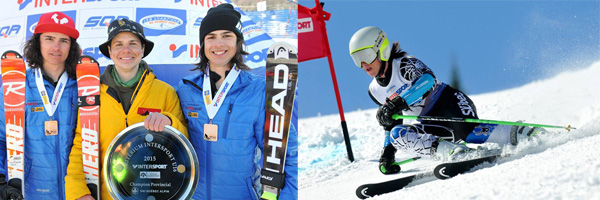 Gabriel de Varennes Canadian Ski Champ