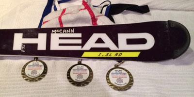 Brian McCann's impressive medal sweep