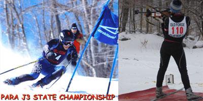 Tyler Filling and Elisabeth (Youth Biathlon Gold Medal Winner)