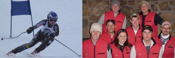 Elyse Burandt and RaceWax.com Ski Team