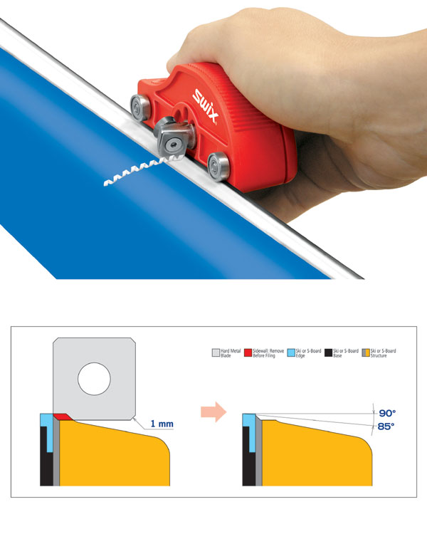 Swix Pro Sidewall Cutter Planer