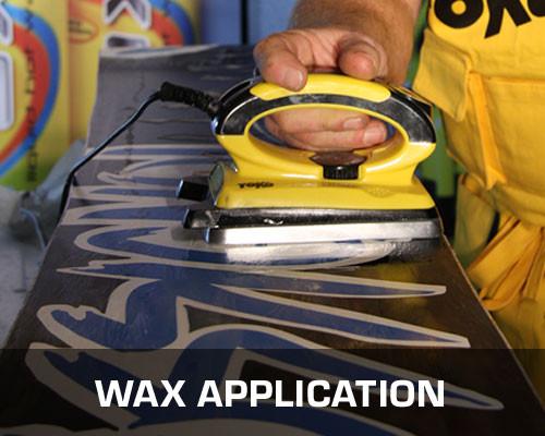 Wax Application